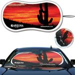 Custom Prest-O-Shade FX Full Color Full Almost Bleed Single Loop Sun Shade AutoSunShade