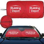 Custom Intertekline Econo Shade Autosunshade