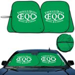 Custom Auto Shade Prest -O- Shade 2 Collapsible Fabric Sunshade