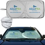 Custom Prest-O-Shade (R) Econo Shades Auto-sun-shade Single Fabric Sunshade 2 round loops