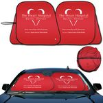 Custom Prest -O- Shade 2 Collapsible Fabric Sunshade