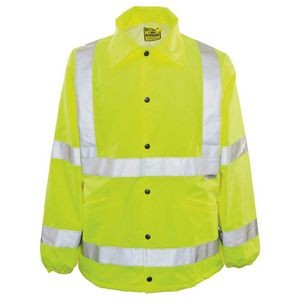The Ultimate Year Round Protector High Visibility Reflective Jacket w/Hidden Hood