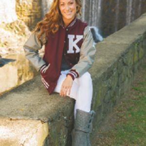 The Ladies' Custom JV Varsity Jacket
