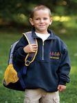 Custom The Firefighter's Zip Turtleneck Shirt (Youth)