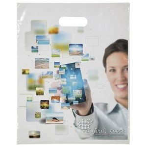 "Digital Full-Color Die Cut Bag (12""x15"")"