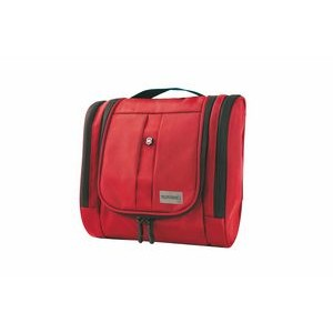 Victorinox® Large Hanging Toiletry Kit (Red)