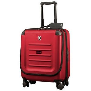 Spectra Dual-Access Extra-Capacity Carry-On Red