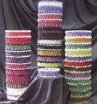Custom Plain Ribbon Leg Garter w/ 1 Color Emblem
