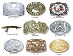 Custom Custom Pewter Finished Belt Buckles (2