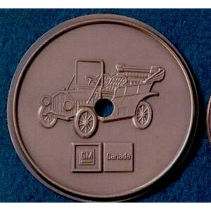 "6 Gauge Medallion, Paperweight, Coin or Gift Coin (Up to 2-3/4"")"