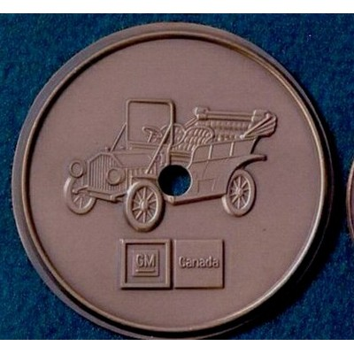 6 Gauge Medallion, Paperweight, Coin or Gift Coin (Up to 2-3/4
