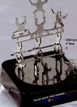 Custom Creative Constructions Acrobats Magnetic Sculpture W/ 4