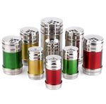 Custom Colorful Metal Pepper Shaker Toothpick Case