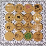 Custom Cork Coaster Cup mat Round and Square 1/5