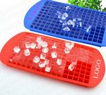 Custom 160 cubes Kitchen silicone ice cube trays molds maker