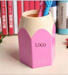 Custom Plastic Cartoon Charming and Delicate Brush Pot