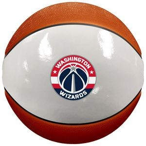 Spalding Mini Size Alternating White Panel Basketball
