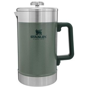 Stanley PMI Stay Hot French Press, 48 Oz., Hammertone Green