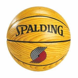 Spalding B7 Full Size Woodgrain Basketball