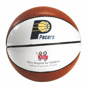 Spalding Two-Panel B1 Micro Mini Autograph Basketball