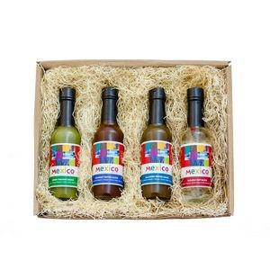 Gourmet Box Hot Sauce Gift Set