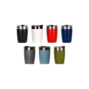 Leakproof 12 oz Bison Tumbler - Stainless Steel - Custom