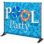 Custom 8' x 10' Mighty Banner Fabric Graphic w/ Large Tube Frame Kit