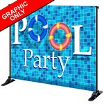 Custom 8' x 10' Mighty Banner Fabric Graphic Only