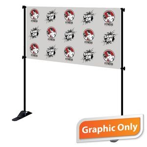 4' x 8' Mighty Banner Fabric Graphic Only