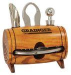 Custom Wine Tool Kit - Barrel Holds 4 Pieces