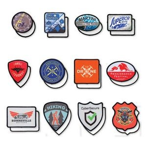 "2.5"" x 2.5"" - Customized Fabric Patches - Color Printed"