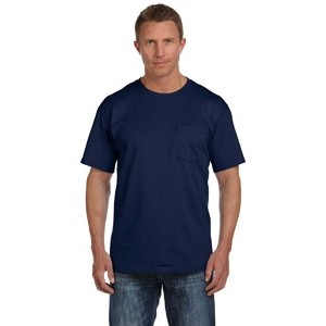 Fruit of the Loom Adult 5 oz. HD Cotton? Pocket T-Shirt