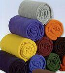Custom Fleece Throw Blanket (Embroidered)