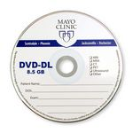 Custom Printed DVD-R - 1 color over white or silver substrate