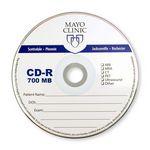 Custom Printed CD-Recordable 700MB 52X
