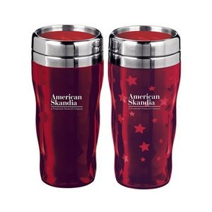 Heat Wave Star - Double Wall Heat Changing Stars Tumbler 16 Oz. Ttumbler