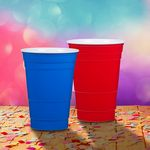 Custom Party Hard Cup 20 oz double wall acrylic