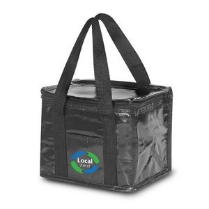 Non-Woven Cooler Lunch Bag w/ Laminated Gloss Finish