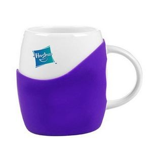 14 Oz. Rotunda Silicone Gift Set 1 Ceramic Mug in Gift Box