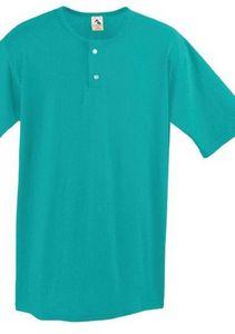 Custom Augusta Jersey Two-Button Henley