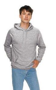 Custom American Apparel Unisex California Fleece Pullover Hooded Sweatshirt
