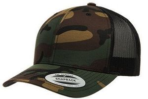 Custom Yupoong Camo Retro Trucker