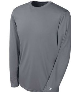 Custom Champion Double Dry Long Sleeve Interlock T-Shirt
