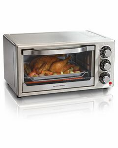 Hamilton Beach-6 Slice All Stainless Steel Oven
