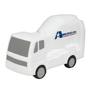 Concrete Cement Mixer Stress Reliever with Full Color Logo