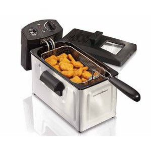 Hamilton Beach 12 Cup Stainless Deep Fryer