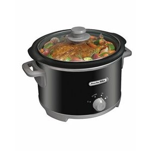 Proctor Silex-PS 4 quart round slow cooker