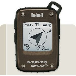 Bushnell-GPS/Compass-Digital Navigation-BackTrack HuntTrack Brown/Black GPS