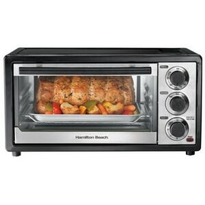 Hamilton Beach 6 Slice, TO/B, Oven