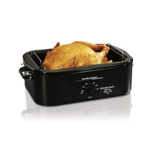 Hamilton Beach 18 Qt Roaster Oven, Black, Eng Graphics